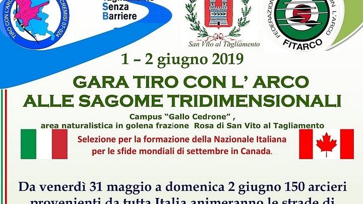 Calendario Fitarco.1 2 Giugno 2019 Gara Tiro Con L Arco Alle Sagome