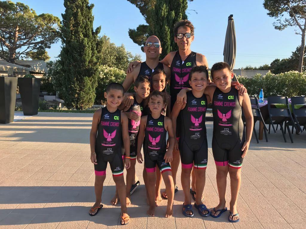 Fiocco Cremisi con il Tridente – Una partenza sprint, ma gli atleti reclamano l'acqua