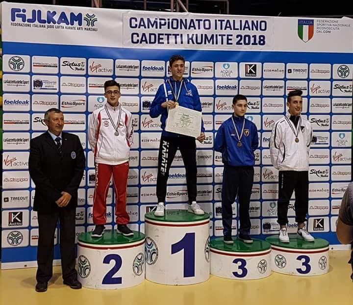 Medaglia di Bronzo di Mario Ciminiello al Campionato ITA